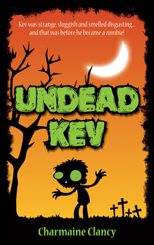 Undead Kev kids zombie books great read
