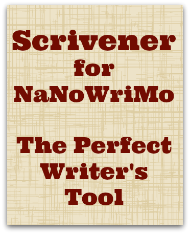 Scrivener for NaNoWriMo - the perfect writer's tool