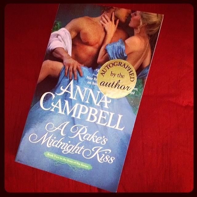 Anna Campbell love scenes