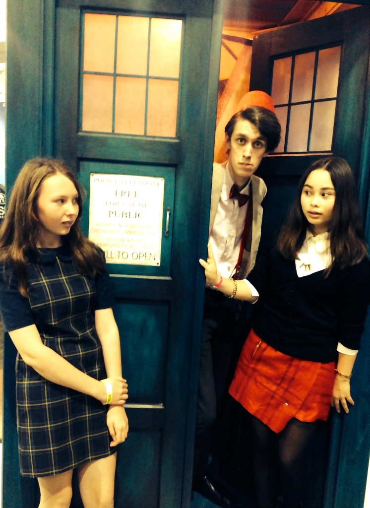 The Doctor has two Claras - awkward!