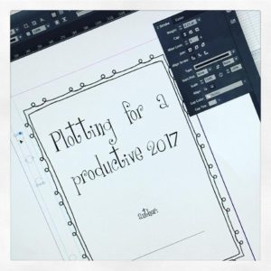 2017 planner for writers
